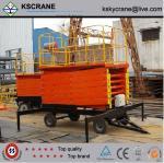 Best 300kg Traveling Hydraulic Scissor Lift Platform wholesale