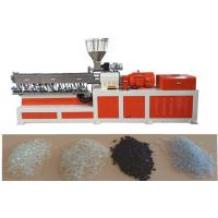 Buy cheap EVA Double Screw Extruder Plastic Making Machine Under Water Pelletizing System from wholesalers