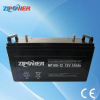 Best Solar Deep Cycle Battery 12V100Ah Free Maintenance With 10years Life (NP12-100D) wholesale