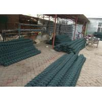 Best 1.8mm - 5.0mm Green PVC Coated Wire Fencing 2.5m Height For Playground wholesale