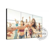 Best TV Diy Digital Signage Video Wall 1.7mm 49 Inch 3*3 4K DID Touch Screen Kiosk wholesale