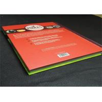 Best Casebond Hardcover Book Printing Services PMS Color For Entertainment , printing art books wholesale