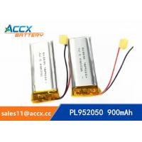 Best 952050pl 3.7v lithium polymer battery with 900mAh li-ion battery for bluetooth headset wholesale