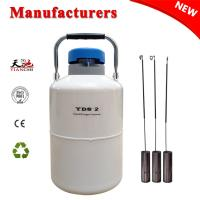 Best TIANCHI LN2 Tank 2L Small Capacity Semen Cylinder With Straps Carry Bag wholesale
