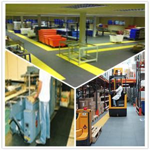 Best 3W Industrial Heavy Duty Flooring /Interlocking PVC garage flooring tiles flooring decking wholesale