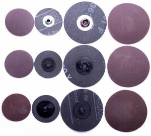 Best 2 inch 3 inch Roloc Abrasive Disc 60 grit , Orbital Aluminum 3m 361f Roloc Disc wholesale