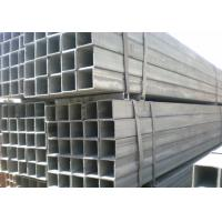 Best Square, Rectangle Q215, Q235 oiled / black color / galvanized Welded Steel Pipes / Pipe wholesale