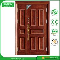 Best Cold Rolled Steel Sheet Material Latest Main Gate Designs Steel Metal Doors With Direct Factory Price wholesale