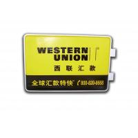 Best Rectangle Light Box With Wall Mounting Brackets , LED Outdoor Advertising Light Box wholesale
