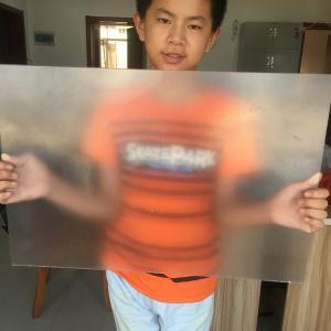 Best PP/PS lenticular materials 3D Lenticular Sheet material /Parallex 3D lenticular Lens for 3d lenticular print wholesale