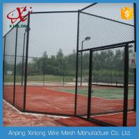 Best High Anti Corrosive Dark Green Chain Link Fence for Tennis Ground wholesale