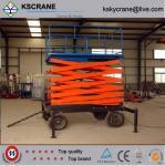 Best High Quality 6m-10m Indoor Hydraulic Manual Scissor Lift wholesale