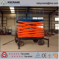Best High Quality 6m-10m Indoor Hydraulic Manual Scissor Lift wholesale