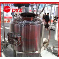 Best SUS304 / SUS316 Beer Brewing Tanks Commercial High Precision wholesale