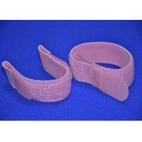 Best Colored Elastic Hook And Loop Strap 2 Inch With Silk Screen Logo wholesale