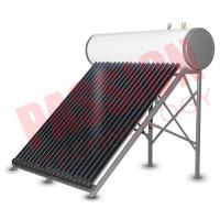 Best Integrative Closed Circulation Small Solar Water Heater For Home , White Outer Tank wholesale