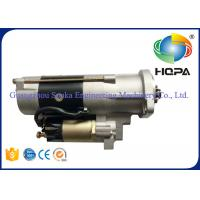 Best M3T56174 M3T56183 Excavator Starter Motor 5.5KW With Metal Material , Silver Color wholesale