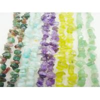 Best Handmade Jewelry Mix Color Facted Round Semi Precious Chip Stone Bead 16mm wholesale