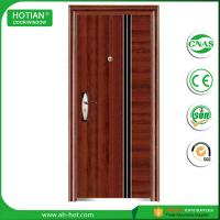 Best High quality factory manufacturer entry single leaf steel security doors residential wholesale