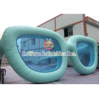 Best Glasses Shape Inflatable Advertising Products / Business Advertising Signs wholesale