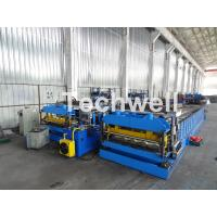 Best Automatic PLC Controlled Tile Roll Forming Machine For Steel Metal Glazed Tile wholesale