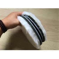 Best Premium 7'' Genuine Wool Polishing Pad String Backing For Glass / Molding wholesale