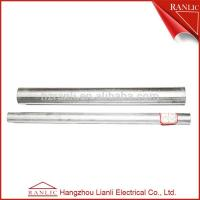 Cheap Ranlic Rigid Steel EMT Electrical Conduit for Industrial / Commercial , Q195 235 Steel Lot for sale