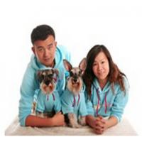 Best 2015 new design fleece hoodie dog clothes matching dog and human pet clothes clothes wholesale