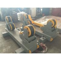 Cheap 380V 50HZ Tank Self-Aligning Rotators With Double Drive , 0.1-1 m/min Wheel Speed for sale