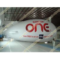 Best Inflatable advertising helium zeppelin with UV Protected Printing 0.18mm PVC for opening event, outdoor advertising wholesale