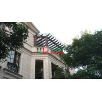 Best UV Resistance Pergola Attached To House , Fading Resistance Wall Attached Pergola wholesale