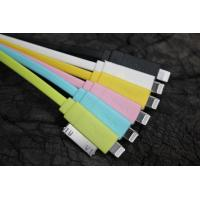 Best Powered TPE 2 IN 1 Cell Phone USB Cable / iPhone 4 Data Sync USB Charging Cable wholesale