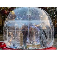 Cheap Outdoor Inflatable Advertising Products Transparent Christmas Snow Globe wholesale