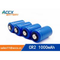 Best LiMnO2 CR2 3.0V 1000mAh primary battery with high quality wholesale
