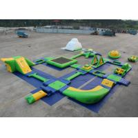 Best Water Proof Blow Up Water Park , Inflatable Water Slide Park Environmently Friendly wholesale