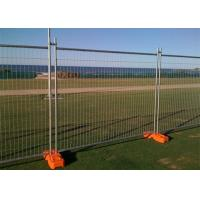 Best Galvanized Steel Temporary Mesh Fencing 2.4x 2.1 Meter For Sporting Events wholesale