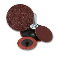 Best Red color abrasive Fiber Disc with Cross Center wholesale