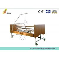 Best Five Functions Electric Wooden Medical Hospital Beds / Home Care Bed by Cold Roll Sheet (ALS-HE001) wholesale