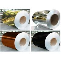 China Thickness 0.14mm Mirror Finish Aluminium Sheet Width 1250mm For ACP Products on sale