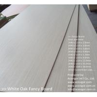 China White Oak Fancy Plywood 1220 x 2440mm on sale
