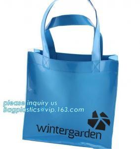 China Women Handbags Biodegradable Shopping Bags Semi Clear Shoulder Tote Beach on sale
