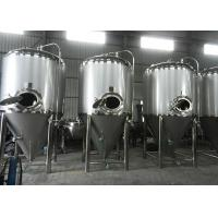 Best Home Brew Conical Fermenter Equipment , Micro Beer Brewing Equipment wholesale