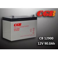 Best 12V 90ah Solar System Battery , CB12900 Agm Battery Low Self Discharge wholesale