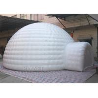 Best Giant Inflatable Igloo Tent , White 3.5 M Height Inflatable Outdoor Tent wholesale