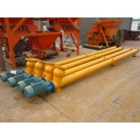 Buy cheap Constrcution powder Spiral Screw Conveyor from wholesalers