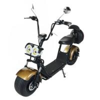 Best 60V Mini 2 Wheels Electric Harley Motorcycle , Max Speed 40km/h wholesale