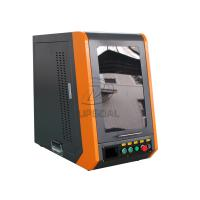 Closed Type 20W 110*1100mm Fiber Laser Marking Machine for Metal