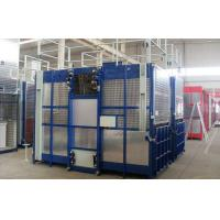 Best Rack and Pinion Double Cabin Construction Hoists for Transport Material and Personnels wholesale
