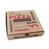 Food Packaging Corrugated Cardboard Pizza Boxes Recycled Food Grade Paper