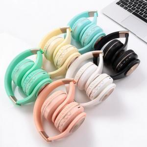 Best A1 Bluetooth headphones 5.0 Wireless Headset Foldable TF Card FM Universal Stereo Headphone wholesale